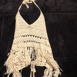 Cotton Candy LA Crochet Top